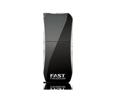 fast fw300um无线网卡