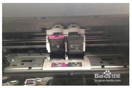 惠普1280换墨盒3