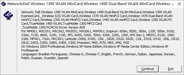 dell d620网卡驱动安装方法1