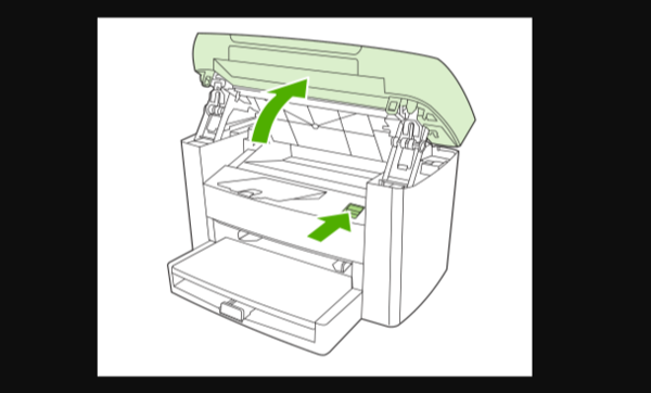 佳能ts308打印机怎么加墨水1
