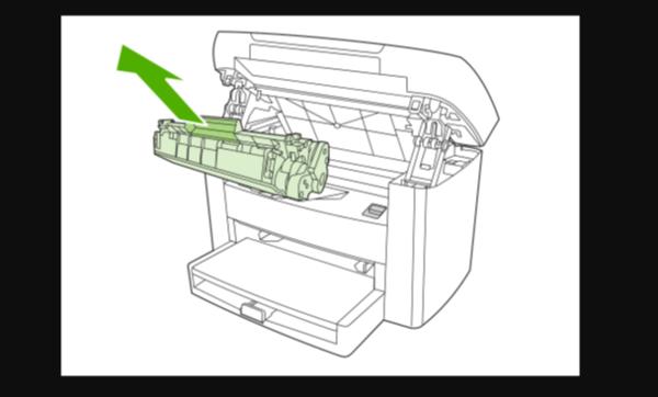 佳能ts308打印机怎么加墨水2