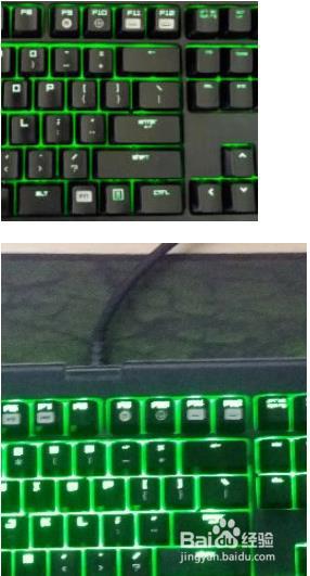 雷蛇黑寡妇键盘怎么调灯5