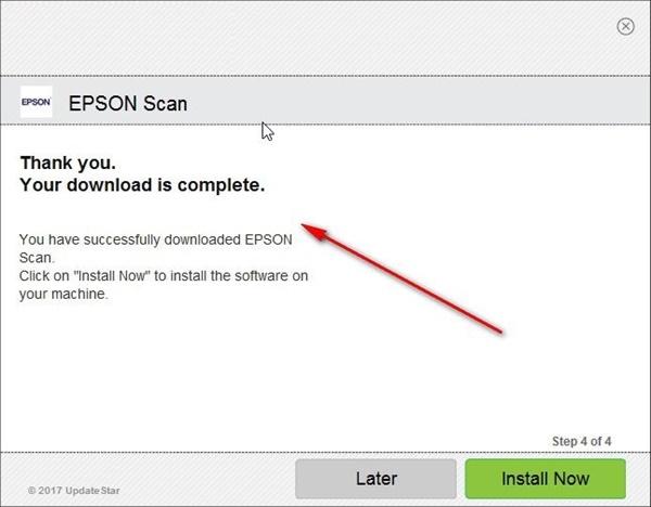 epson scan驱动安装方法4