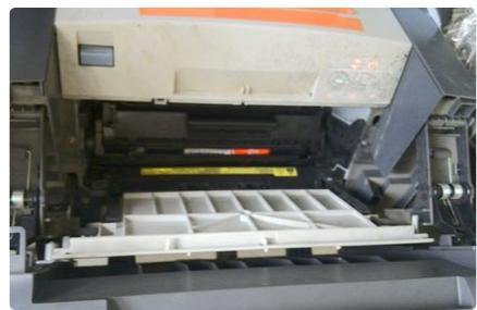惠普p1008打印机怎么加墨2