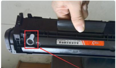 惠普p1008打印机怎么加墨3