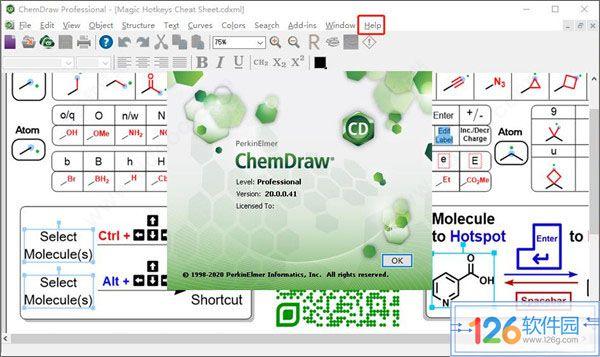 ChemDraw20特色