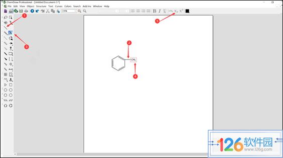 ChemDraw编辑高分子聚合物结构简式方法2