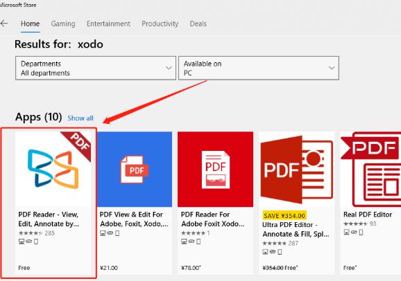 Xodo PDF阅读器使用教程1