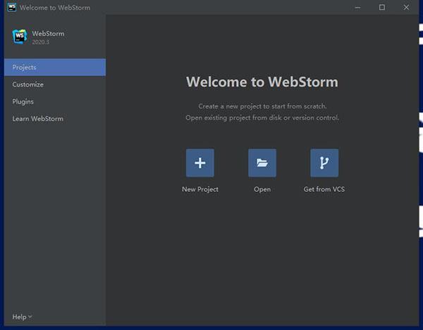 WebStorm2020.3激活版中文设置5