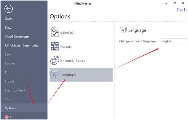 MindMaster Pro 8中文设置教程1