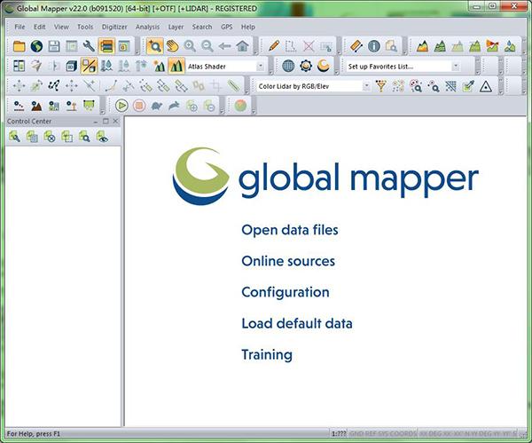 Global Mapper22汉化版