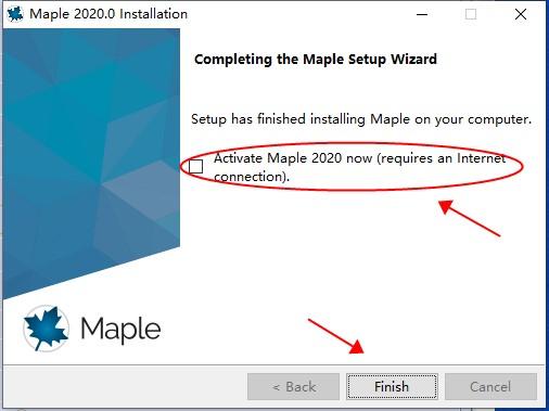 Maple2020破解版安装教程9