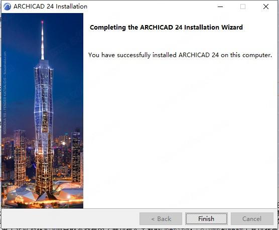 ArchiCAD24中文版安装教程9