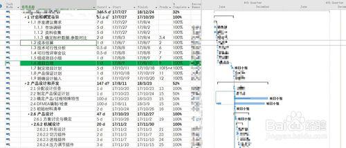 Project2019破解版进度线设置1