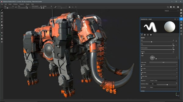 Substance Painter 2021特色