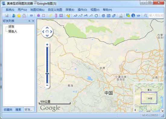 奥维互动地图离线包
