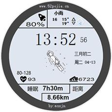 华为手表太空人表盘动态壁纸 v1.2 电脑版