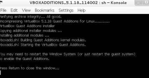 VirtualBox虚拟机设置鼠标在物理机和虚拟机间切换6