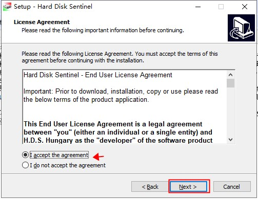 Hard Disk Sentinel Pro安装步骤3