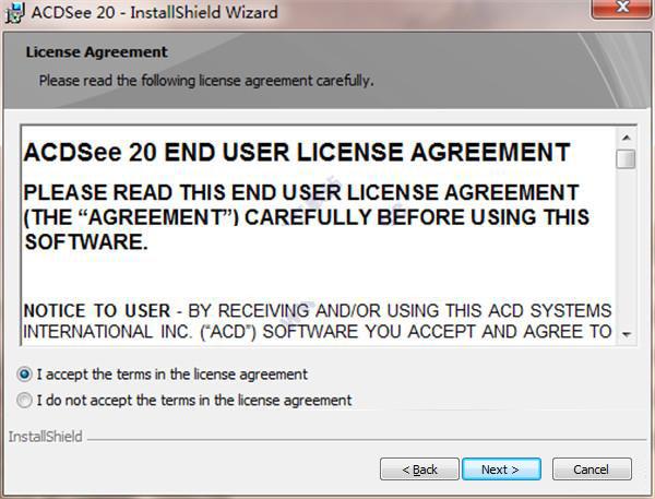 ACDsee Pro安装步骤2
