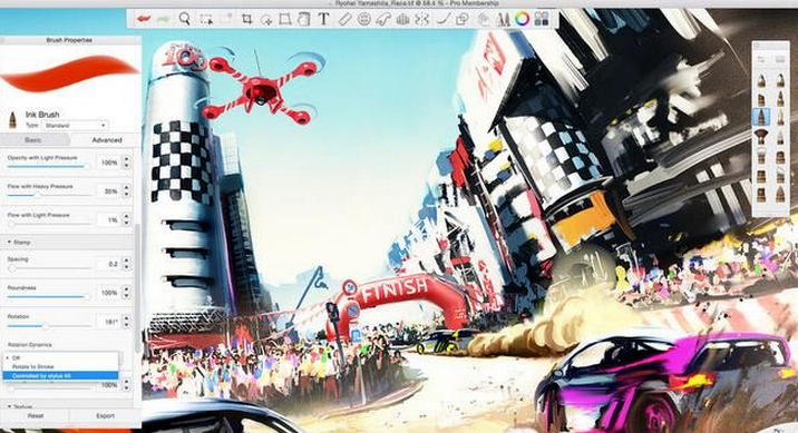 SketchBook Pro 2021特色