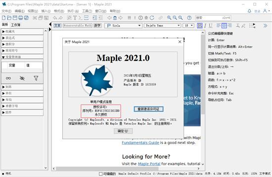 Maplesoft Maple 2021安装教程11