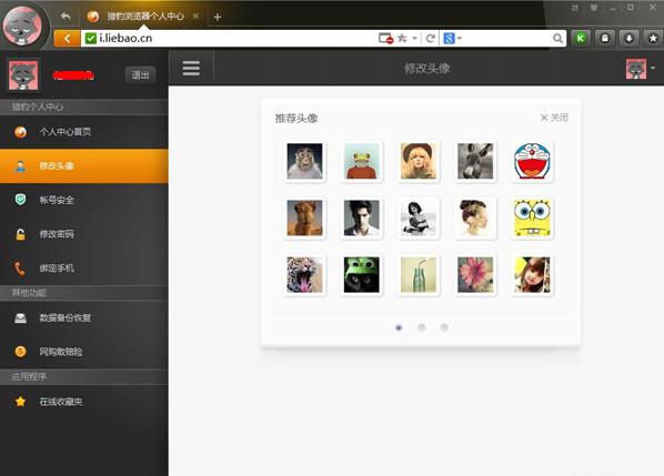 猎豹安全浏览器官方版功能