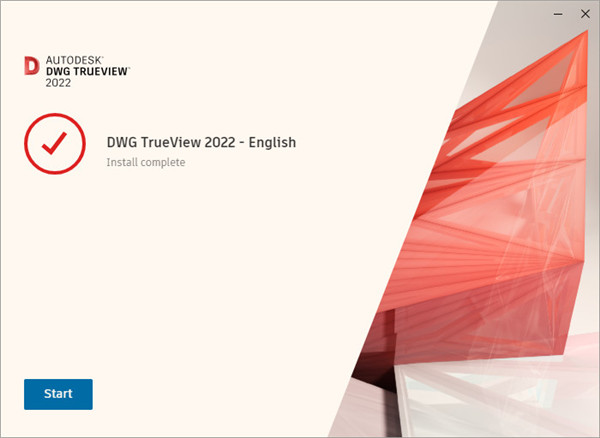 DWG TrueView2022安装方法6