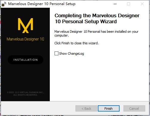 Marvelous Designer10安装教程4