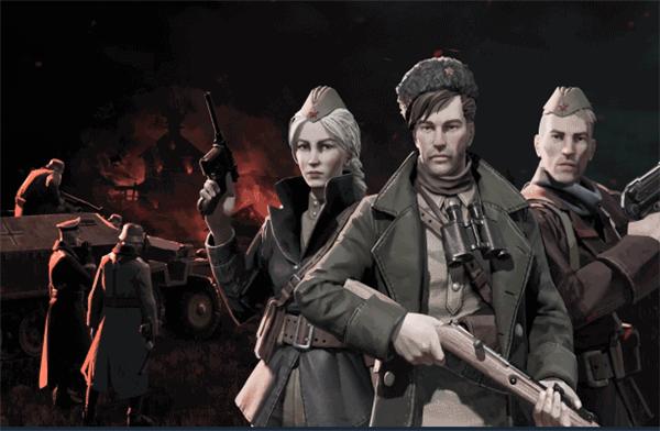 苏军游击队1941