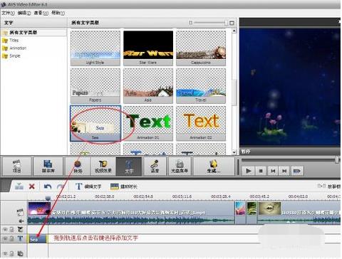 AVS Video Editor激活版视频字幕添加4