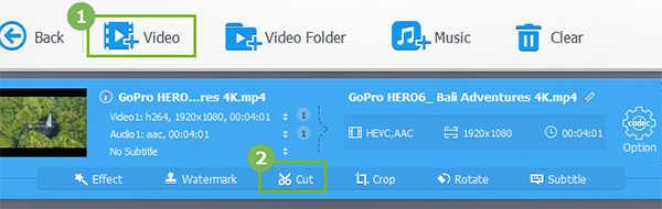 VideoProc4中文版剪辑视频1