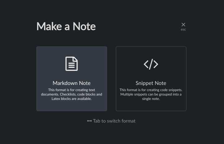 Boostnote电脑版使用方法2