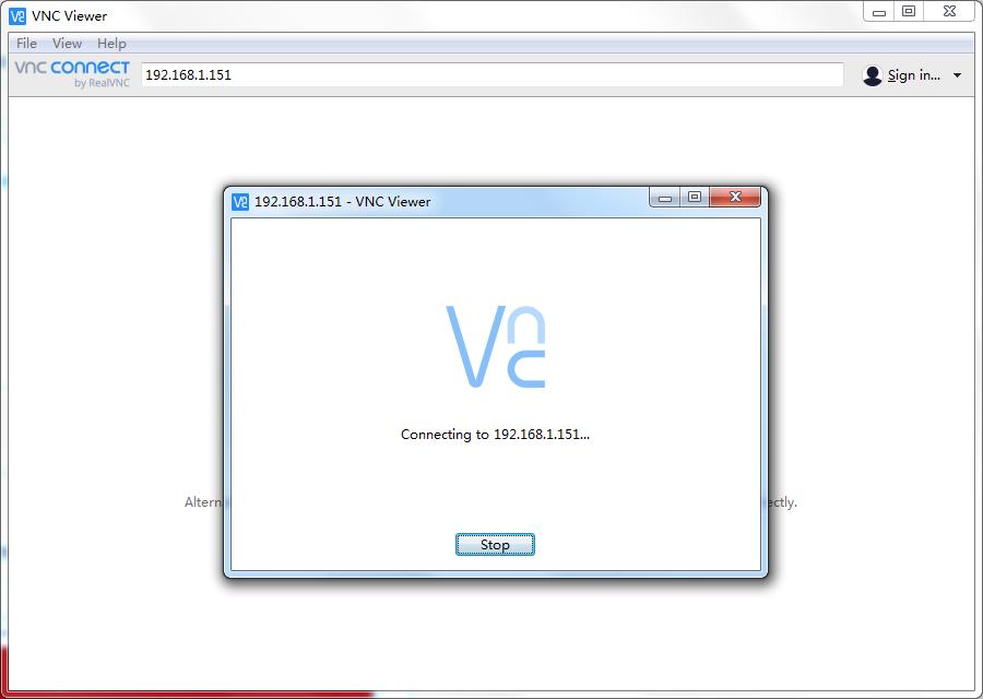 VNC Viewer中文版使用方法3