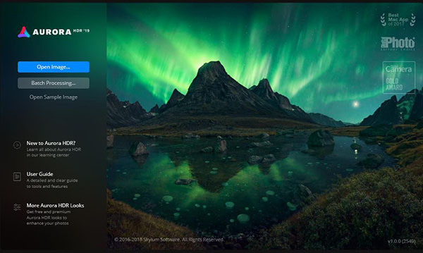 Aurora HDR正式版