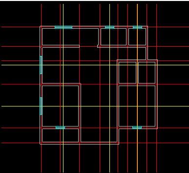 CAD迷你家装注册版绘制室内CAD平面图4