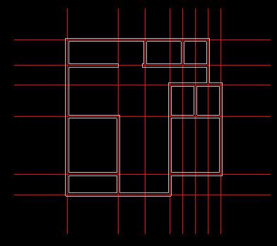CAD迷你家装注册版绘制室内CAD平面图3