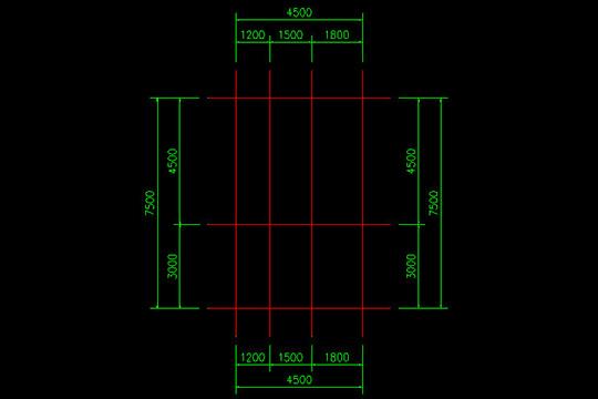 CAD迷你家装注册版快速画轴线4